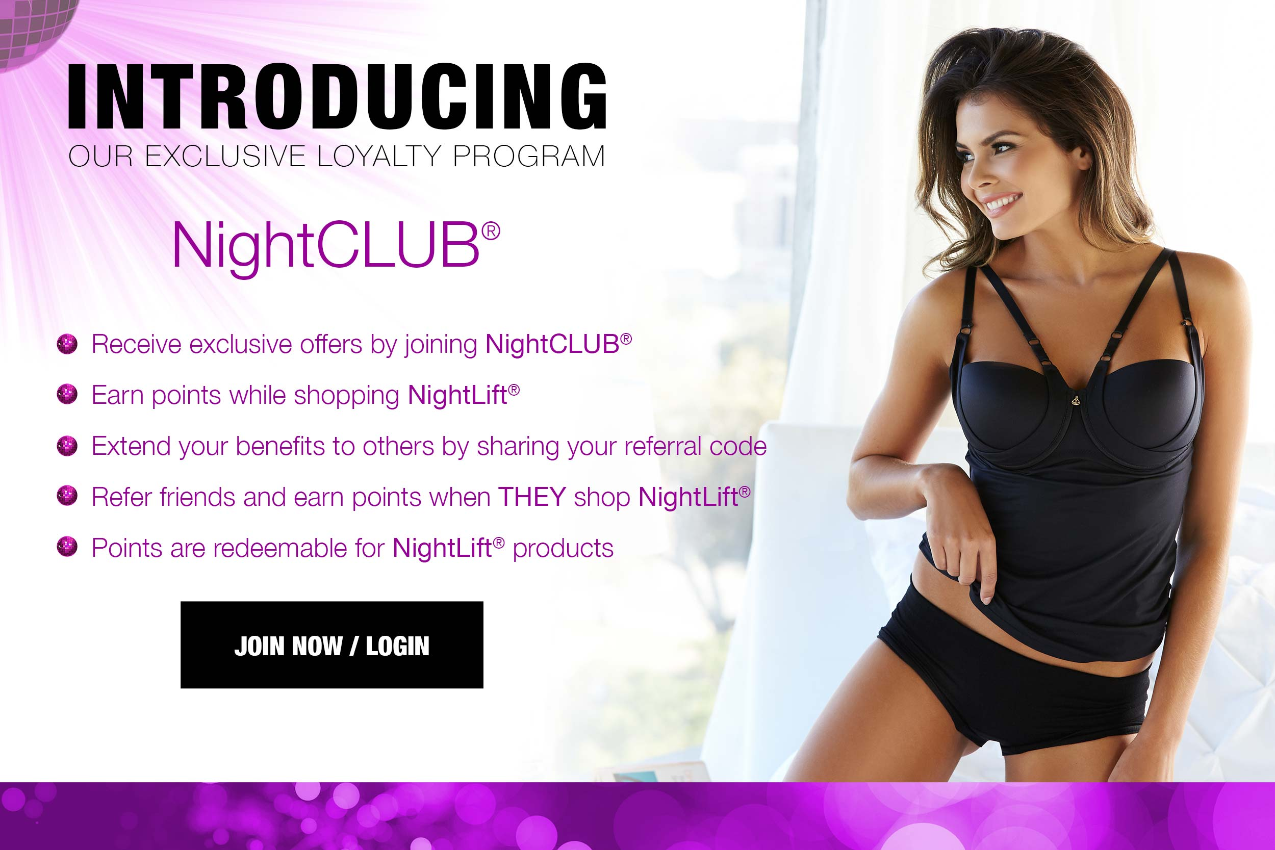 NightCLUB rewards program