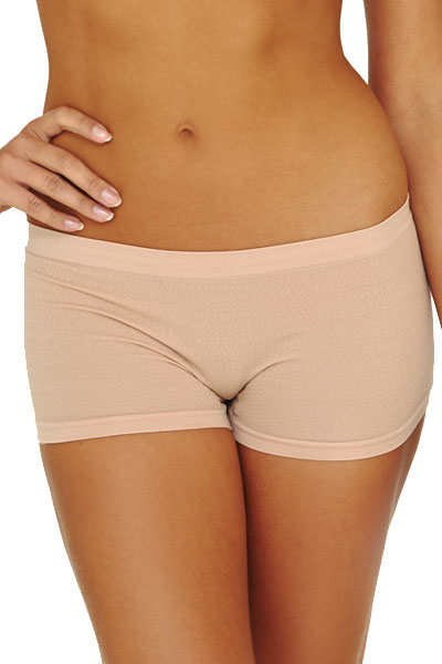 Seamless Boy Short Cream