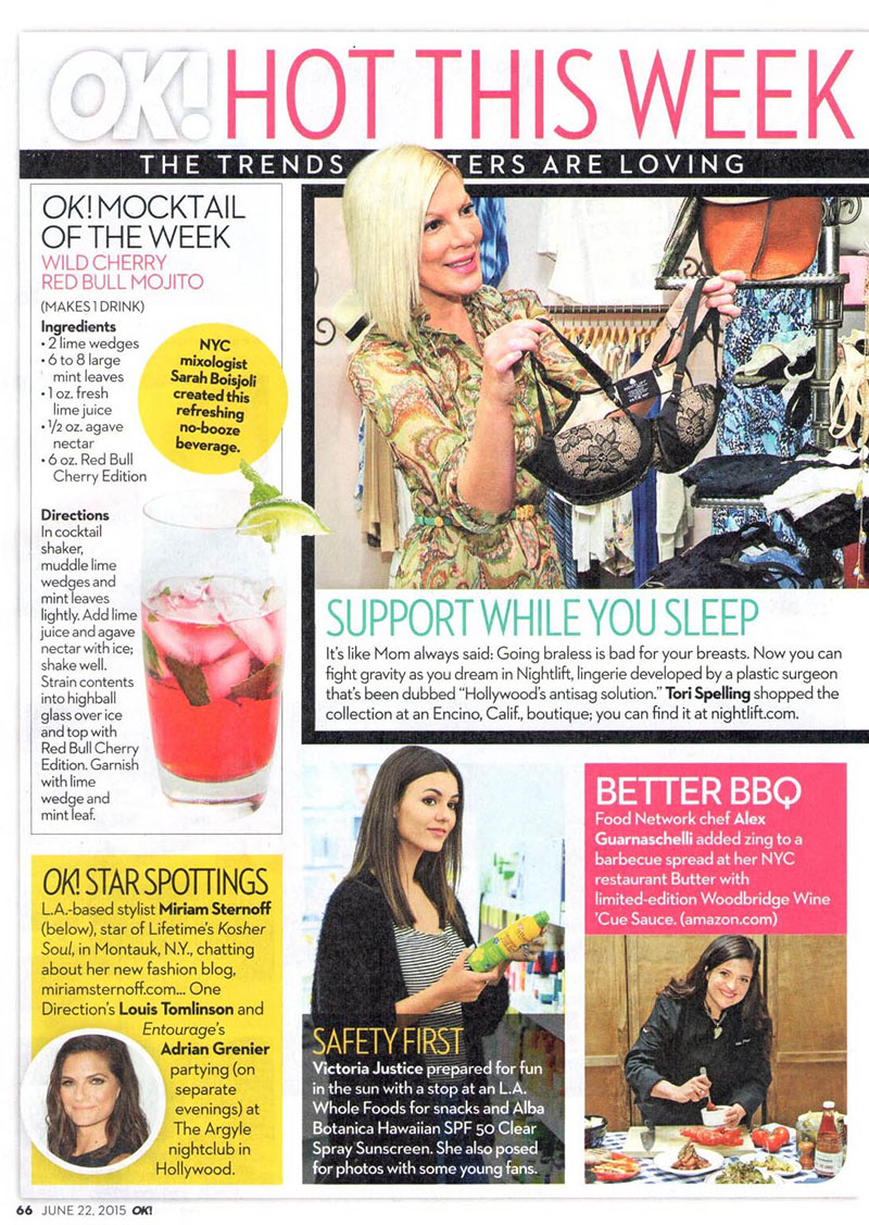 "OK! Magazine ""Hot This Week"" features NightLift and Tori ..."